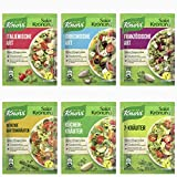 Knorr Salad Dressing Tasting Pack Salad Dressing 12 pcs/ sachets - by Helen's Own - with English Instruction Booklet - Knorr Salat Krönung