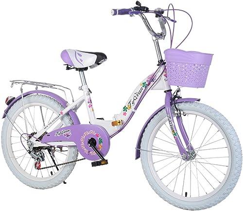venta con alto descuento Defect Bicicletas Infantiles Infantiles Infantiles Bicicleta de Niños Plegable niña Princesa Damas Bicicleta  marca de lujo