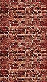 Ella Bella Photography Backdrop Paper, Aged Red Brick, 48' x 12', 1 Roll