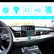 8X-SPEED for Audi A3 A6 A7 A8 8-Inch 169x100mm Car Navigation Screen Protector HD Clarity 9H Tempered Glass Anti-Scratch, in-Dash Media Touch Screen GPS Display Protective Film