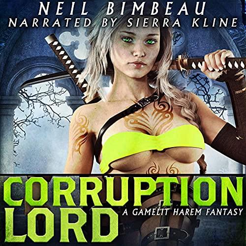 Page de couverture de Corruption Lord (A GameLit Harem Fantasy)