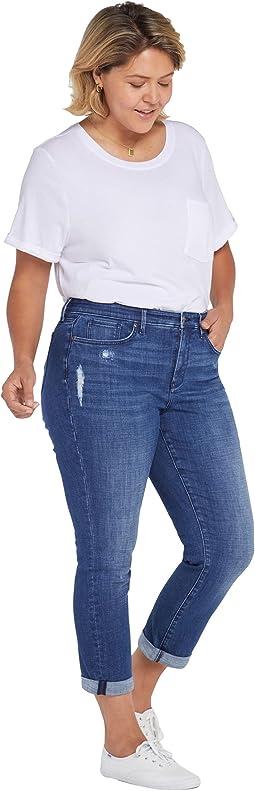Plus Size Margot Grilfriend Jeans in Heron