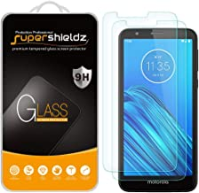 (2 Pack) Supershieldz for Motorola (Moto E6) Tempered Glass Screen Protector, 0.33mm, Anti Scratch, Bubble Free