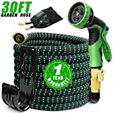 Best Expandable Garden Hoses - EASYHOSE 30FT Expandable Garden Hose, Kink Free Water Review