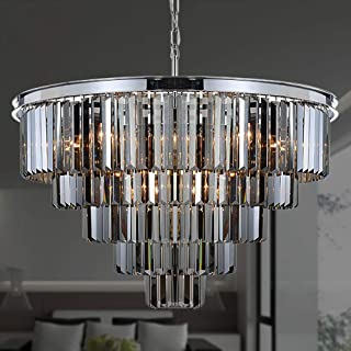 Best small black crystal chandelier Reviews