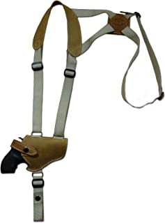 Barsony Olive Drab Leather Shoulder Holster for 2-3
