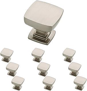 مقبض أكسسوارات خزانة المطبخ المصنوع من النيكل الساتان P29542K-SN-B من Franklin Brass مقاس 1-1/8 بوصة، 10 عبوات