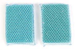 commercial Butler Dawn Flip It Reversible Kitchen Sponge Nylon mesh  fabric, 6 per pack (12 sponges) dawn scrubber sponge