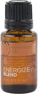 TAHITIAN NONI Essential Oils ENERGIZE Blend (with NONI SEED OIL) by Morinda, 100% Pure Therapeutic Grade with Pink Grapefruit, Peppermint, Fir, Cedar Wood, Nutmeg Essential Oils – 15mL