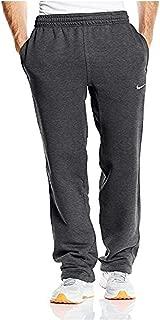 Nike Mens Club Open Hem Swoosh Sweatpants