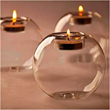 Candlesticks Classic Crystal Glass Candle Holder Table Candlestick Romantic Wedding Bar Party Dinner Home Decor