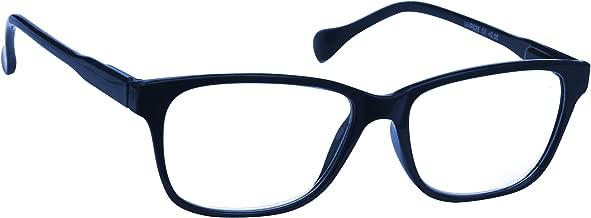 UV Reader Blu Navy Leggero Comodo Occhiali da Lettura Stile Designer Uomo Donna Astuccio Compreso UVR027 Diottria +3,00