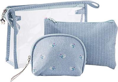 Amazon.com: HBOS - Juego de dos bolsas de cosméticos de PVC ...