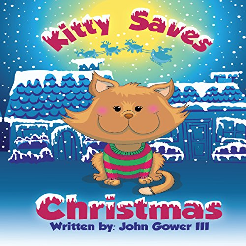 Kitty Saves Christmas  By  cover art