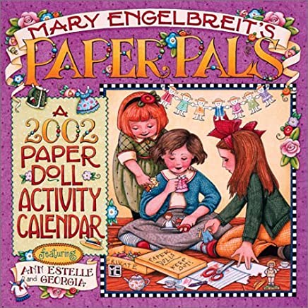 Paper Pals: 2002 Paper Doll Activity Calendar by Mary Engelbreit (2001-07-15)