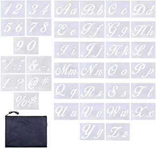 """Letter Stencils 36 Pieces 