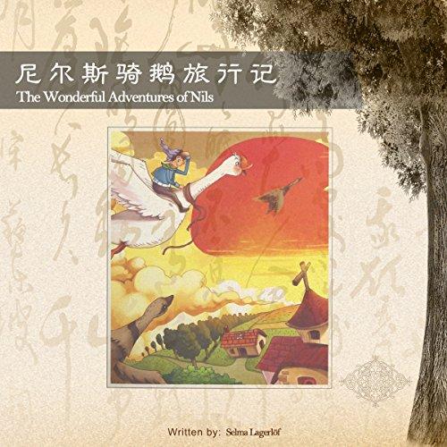 尼尔斯骑鹅旅行记 - 騎鵝歷險記 [The Wonderful Adventures of Nils] audiobook cover art