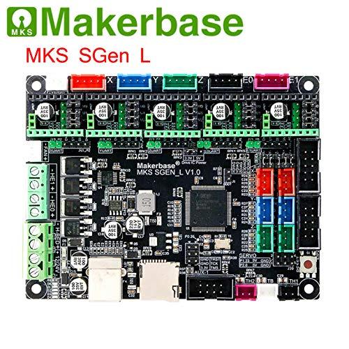BZ 3D MKS SGen L V1.0 32bit Controller-Platine Uart/SPI Kompatibel mit Marlin2.0 Smoothieware Support TMC2208/2130/2209/ TFT32/35 VS SKR V1.3/1.4 (MKS SGen L V1.0)