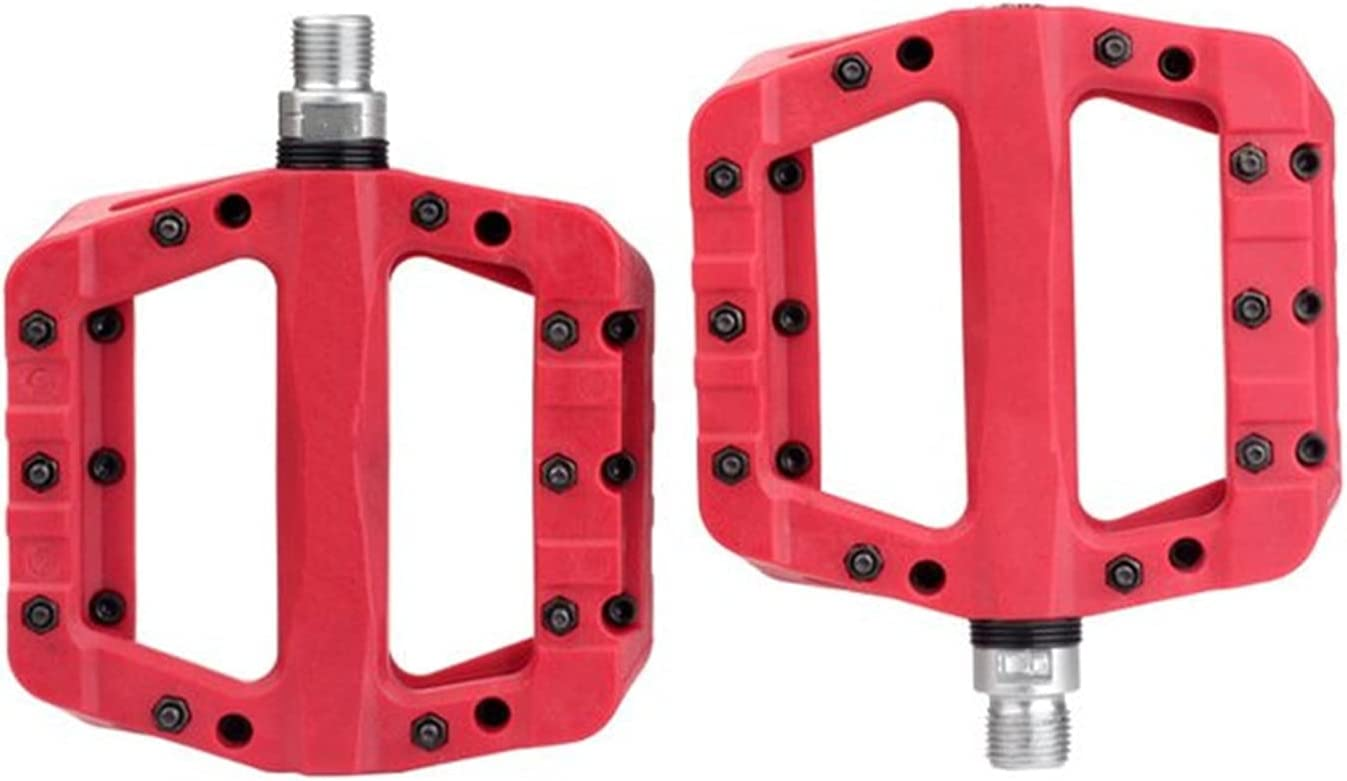 Bicycle Pedal Ultralight 2021new shipping Japan's largest assortment free Mountain Bike Flat Pedals Fiber Nylon