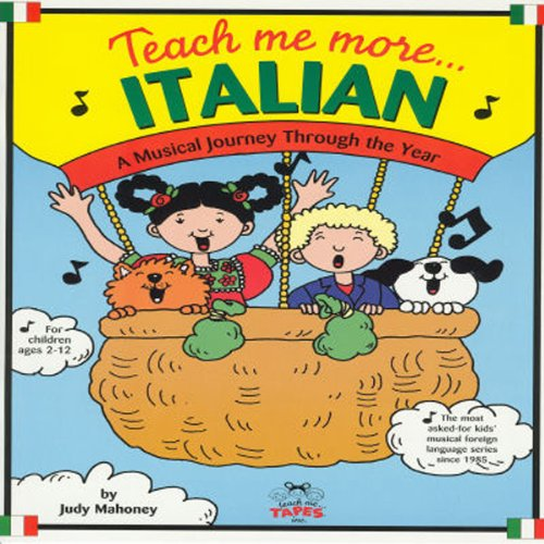 Teach Me More Italian audiobook cover art