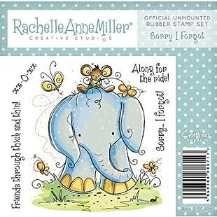 Rachelle Anne Miller Rubber Stamps - Sorry I Forgot