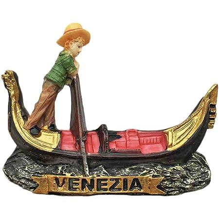 Autocollant magn/étique Venizia Italie Collection cadeau souvenir de voyage maison et de cuisine Aimant de r/éfrig/érateur 3D Venise Italie