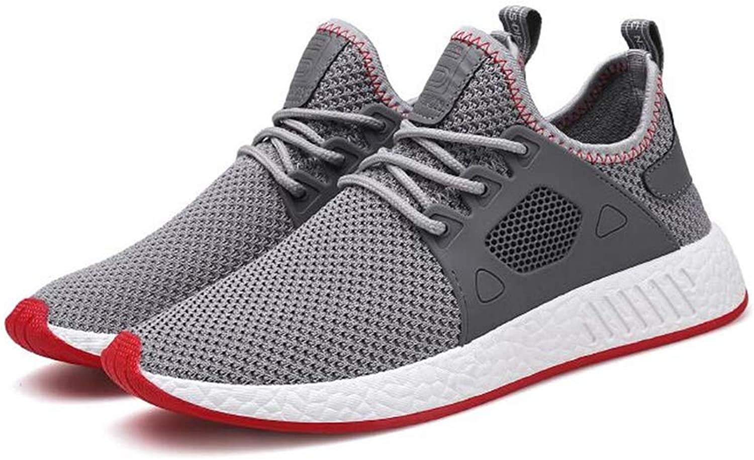 Mens's shoes New Knit Sneakers Spring Fall Breathable Casual shoes Wear Resistant Canvas shoes Running   Hiking Camping   Foot Basket Sports