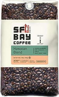 SF Bay Coffee Hawaiian Blend Whole Bean 2LB (32 Ounce) Medium Roast
