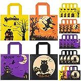 HOTSAN Bolsas de golosinas de Halloween para Fiestas, 24 Bolsas Impermeables para Dulces de Halloween para niños para Trucos o golosinas,Bolsas de golosinas de Halloween Bolsas de Dulces para Fiestas