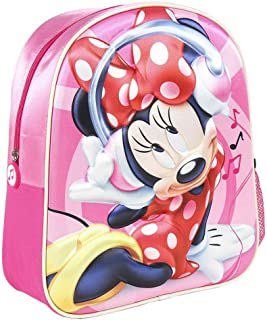 2100002973 Mochila 3D Minnie Mouse 31cm