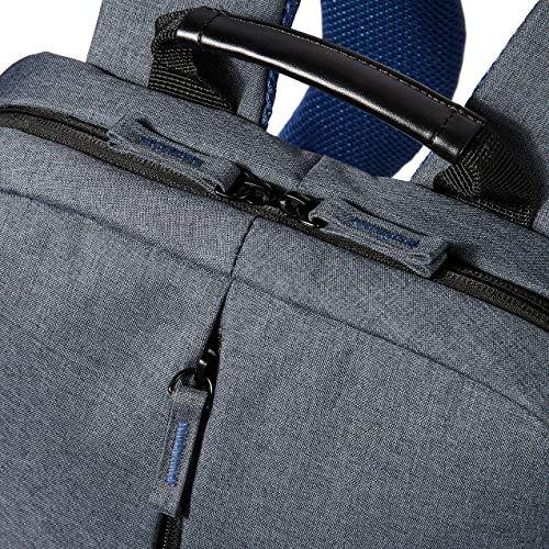 HP Value Backpack 15.6 - Mochila para portátiles de hasta 15.6', gris y azul