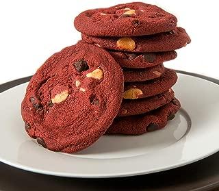 Davids Cookies Red Velvet Cookie Dough, 1.5 Ounce -- 216 per case.