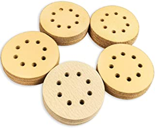 Coceca 5 Inches 8 Hole Hook and Loop Sanding Discs, 20pcs Each 60 80 120 150 220 Grits Sandpaper, Pack of 100, fit for Random Orbit Sander, Random Orbital Sander