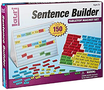 Lauri Magnetic Sentence Builder
