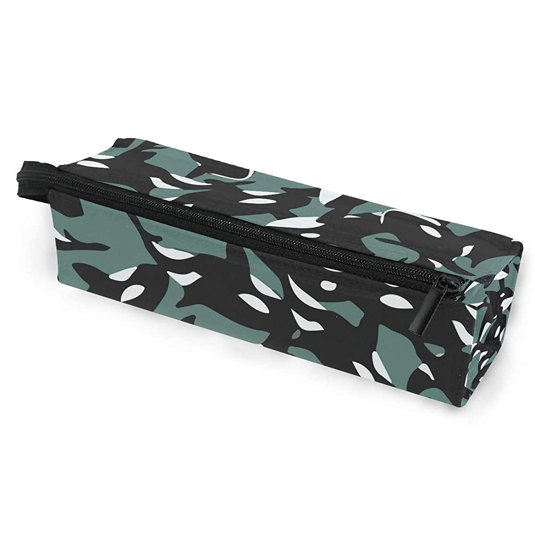 入力パンサー早熟シャチ 海洋 眼鏡ケース ペンケース 筆箱 ペン立て 大容量 文具収納 男女兼用 人気 プレゼント [並行輸入品]
