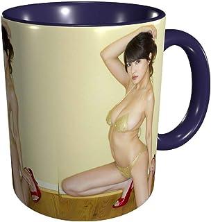 コーヒーカップ・マグ 岸 明日香/きし あすか (1) 陶器 食器 シンプル マグカップ 耐熱 レンジ温め 食器洗浄機対応 ?克杯 大容量 330mlマグカップ マグカップ 6色選べます