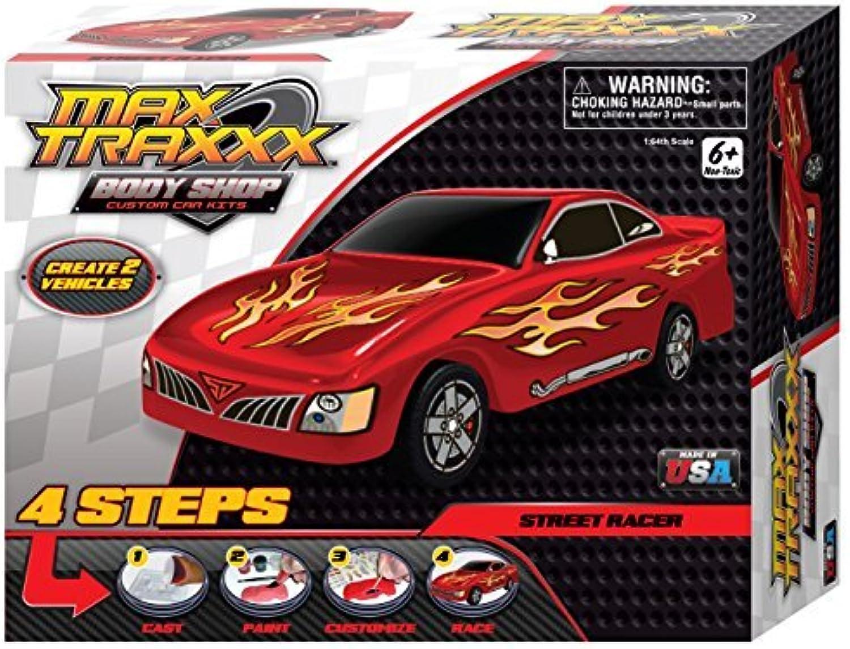 Max Traxxx Award Winning Body Shop PerfectCast Street Racer Car Craft Kit by Max Traxxx