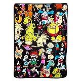 Nickelodeon's Rugrats Nick Rewind, 'Go Splat' Micro Raschel Throw Blanket, 46' x 60', Multi Color