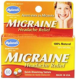 Serving size-1 tablet Does not contain: aspirin This product is manufactured in united states Provides relief from the symptoms of migraine headaches.^All Natural formula^Non-Habit Forming^Aspirin and Acetaminophen Free^Can be used in conjunction wit...