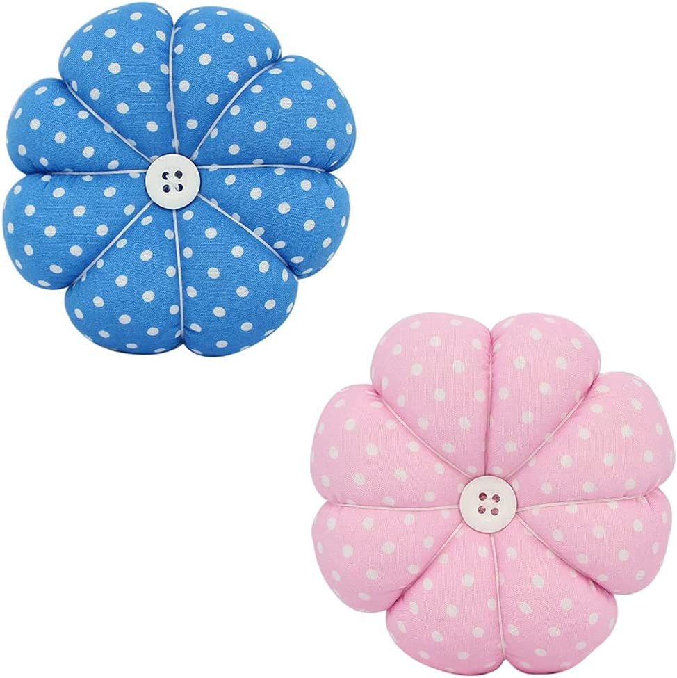 2 Gorgeous Cheap super special price Pieces Pin Cushion Needle Needles Pumpkin C Shaped