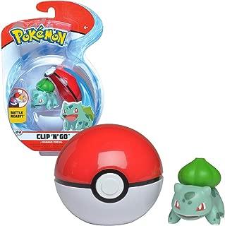 Bandai - Pokémon - Poké Ball & sa figurine 5 cm Bulbizarre - WT97643