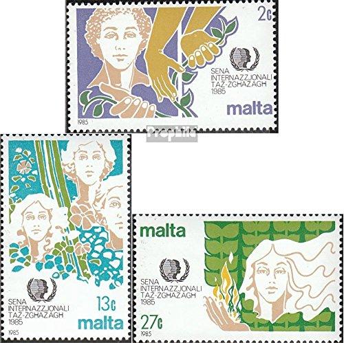 Prophila Collection Malta 723-725 (kompl.Ausg.) 1985 Jugendjahr (Briefmarken für Sammler)