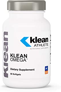Klean Athlete - Klean Omega - Pure Fish Oil in Triglyceride Form to Support Cardiovascular, Neurological and Joint Health ...