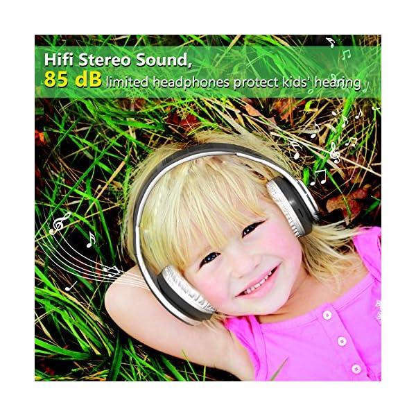 Kids Wireless Headphones Bluetooth Foldable Headset 6