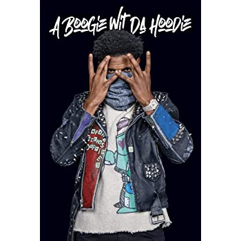 Amazon Com Cinemaflix A Boogie Wit Da Hoodie Artist 2 0 Album Cover Poster 24x36 Inches Posters Prints
