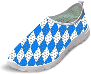 Owaheson Trail Runner Running Shoe Casual Sneakers Checkerboard Checkered Flag