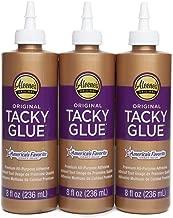 Aleene's 36116 Original Tacky Glue 3 Pack, 8 Oz