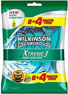 Wilkinson Sword Xtreme 3 Sensitive męskie golarki jednorazowe 8 + 4 gratis