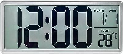 Lozse Reloj despertador creativo perezoso escritorio campana tranquila sala de despertador se puede vincular
