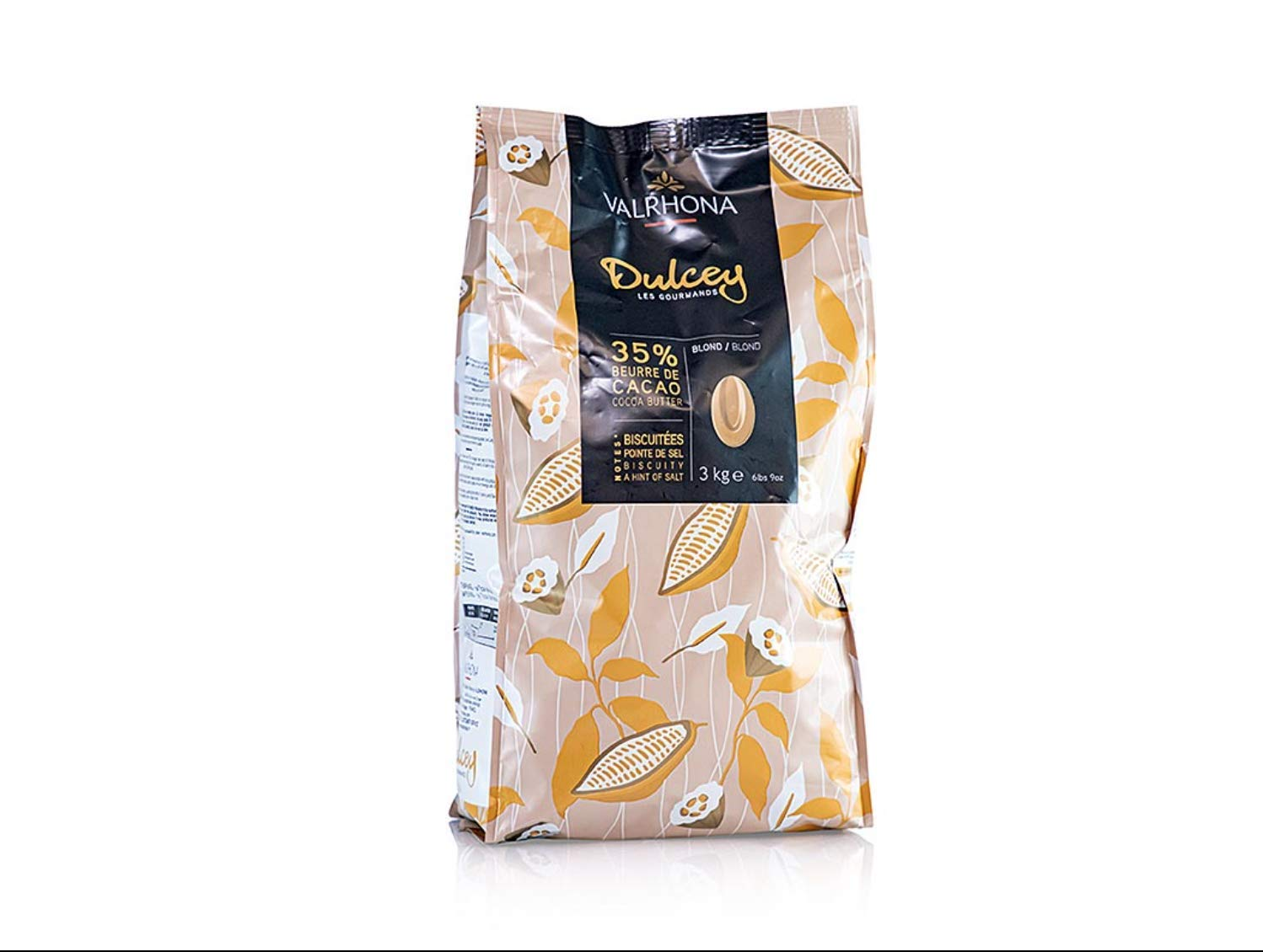 Valrhona Chocolate Dulcey 32% Feves - 3 kg